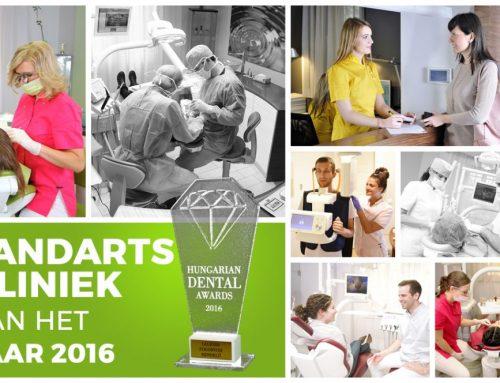 Moricz Dental kliniek wint prestigieuze prijs